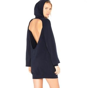 Cotton Citizen Backless Hoodie Dress - Size SM NWT